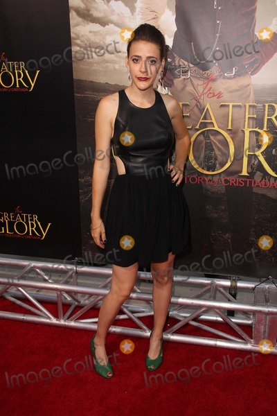 Abby Miller Photo - Abby Millerat the For Greater Glory Los Angeles Premiere AMPAS Theater Beverly Hills CA 05-31-12