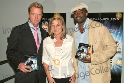 Anne Parducci Photo - Anthony Michael Hall Anne Parducci (of Lions Gate Home Entertainment) and John L Adams at the In-Store Appearance  DVD Signing for Lions Gate Home Entertainments The Dead Zone - Second Season at Best Buy West Hollywood CA 06-10-04