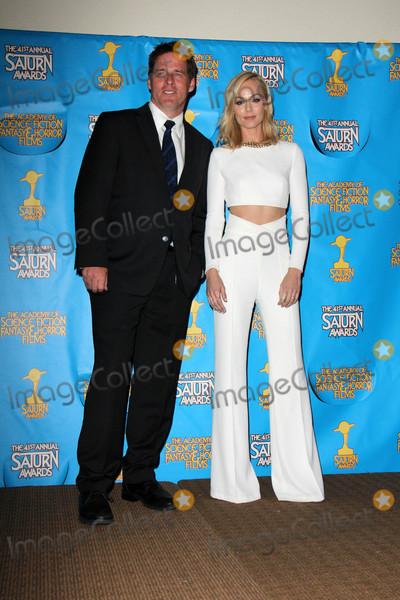 Ben Browder Photo - Ben Browder Laura Vandervoortat the 41st Annual Saturn Awards Press Room The Castaway Burbank CA 06-25-15