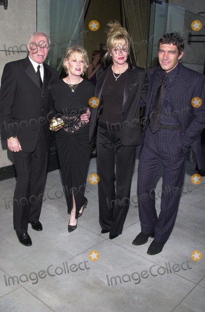 Melanie Griffith Photo - Dr Marty Dinnes Tippi Hedron Melanie Griffith and Antonio Banderas at the first annual Stella Adler awards Highlands Nightclub Hollywood 06-01-02