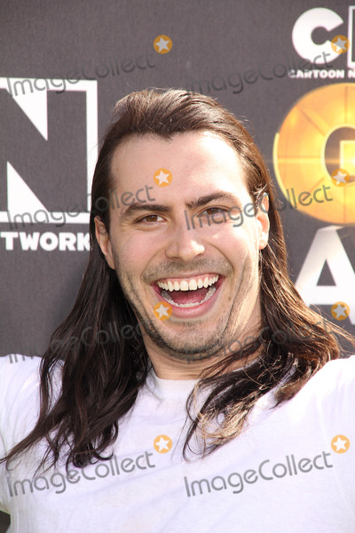 ANDREW WK Photo - Andrew WK at Cartoon Networks first ever Hall Of Game Awards Barker Hanger Santa Monica CA 02-21-11