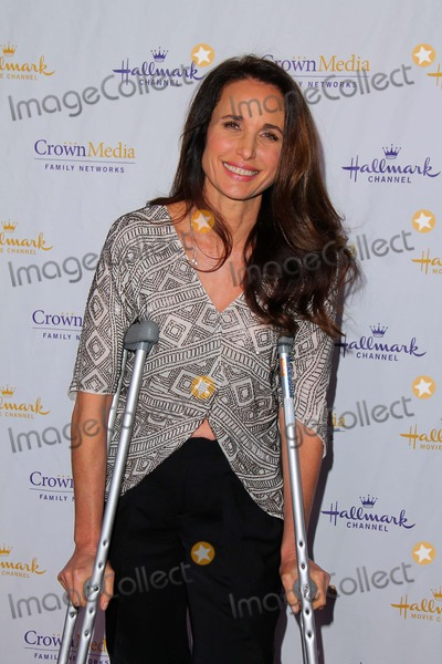 ANDI MACDOWELL Photo - Andie MacDowellat the Hallmark Channel and Hallmark Movie Channel Winter 2013 TCA Gala Huntington Library and Gardens San Marino CA 01-04-13