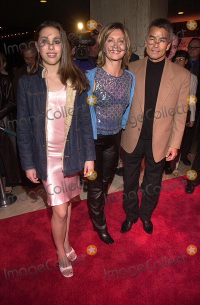 ABBA Photo -  Olivia Newton John daughter Chloe Patrick McDermot at the premiere of MAMA MIA the musical based on the songs of ABBA Schubert Theater Century City 02-26-01