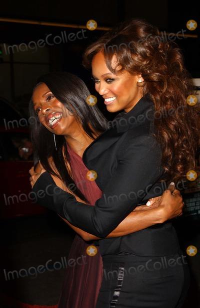 Tasha Smith Photo - Tasha Smith and Tyra Banksat the Los Angeles Premiere of ATL Graumans Chinese Theatre Hollywood CA 03-30-06
