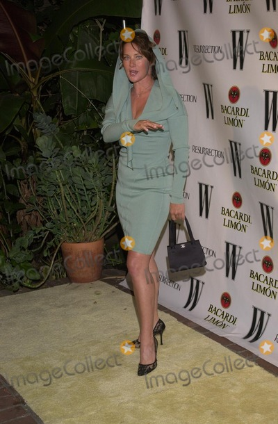 Angela Featherstone Photo - Angela Featherstone at W Magazine and Resurrections Tribute to LAs Best Vintage Couture Chateau Marmont Hotel West Hollywood CA 09-26-02