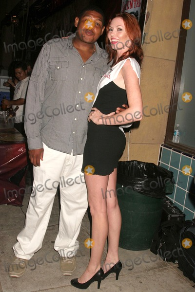 AMANDA FIELD Photo - Omar Benson Miller and Amanda Fields at the world premiere screening of No Bad Days Egyptian Theatre Hollywood CA 07-08-08