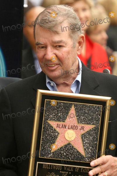 Alan Ladd Photo - Alan Ladd Jrat the award ceremony honoring Alan Ladd Jr with a star on the Hollywood Walk of Fame Hollywood Blvd Hollywood CA 09-28-07