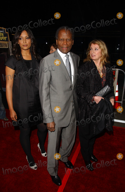 Anika Poitier Photo - Anika Poitier with Sidney Poitier and Joanna Poitierat the Los Angeles premiere of Grindhouse Orpheum Theatre Los Angeles CA 03-26-07