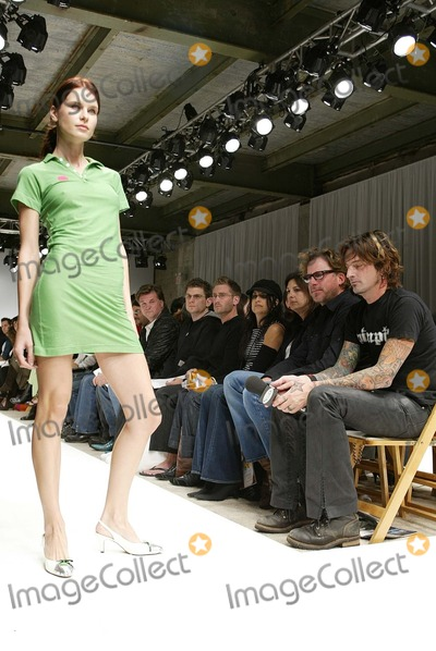 Alicia Lawhon Photo - Tommy Lee watches models at the Alicia Lawhon Fashion Show as part of Mercedes Benz Fashion Week The Standard Los Angeles CA 10-30-03