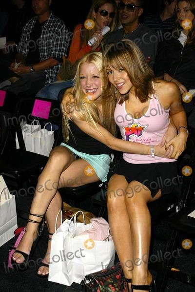 Ashley Peldon Photo - Courtney Peldon and sister Ashley Peldon at the Maggie Barry Fashion Show as part of Smashbox Fashion Week Smashbox Los Angeles CA 10-29-03