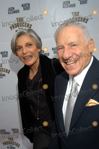 Anne Bancroft Photo - Mel Brooks and Ann Bancroft at Opening Night of The Producers Pantages Theatre Hollywood Calif 05-29-03