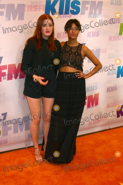 Aino Jawo Photo - LOS ANGELES - MAY 11  Caroline Hjelt Aino Jawo of Icona Pop attend the 2013 Wango Tango concert produced by KIIS-FM at the Home Depot Center on May 11 2013 in Carson CACaroline Hjelt Aino Jawoat the 2013 Wango Tango concert produced by KIIS-FM Home Depot Center Carson CA 05-11-13