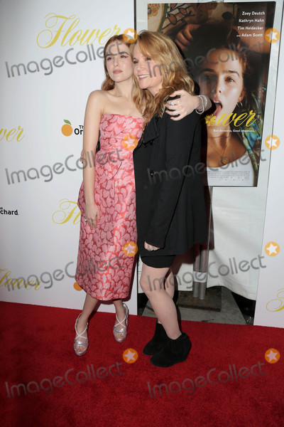 Lea Thompson Photo - Zoey Deutch Lea Thompsonat the Flower Premiere Arclight Hollywood CA 03-13-18