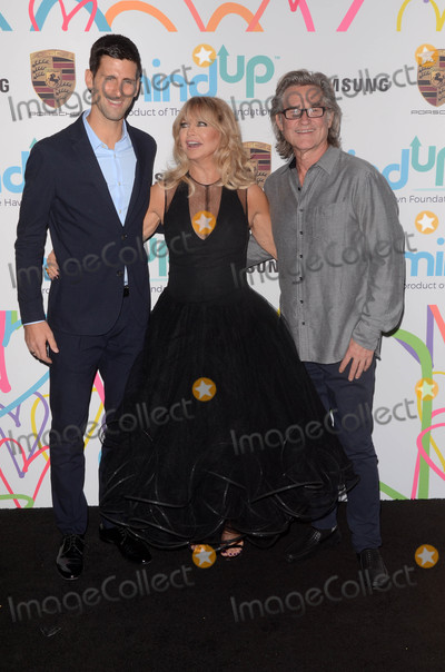 Novak Djokovic Photo - Novak Djokovic Goldie Hawn Kurt Russellat the Hawn Foundations Goldies Love In For Kids Green Acres Estate Beverly Hills CA 11-03-17
