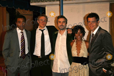 Alfonso Cuaron Photo - L-R Chiwetel Ejiofor Charlie Hunnam Alfonso Cuaron Clare-Hope Ashitey and Clive Owenat the Los Angeles Premiere of Children Of Men Mann Village Theatre Westwood CA 11-16-06