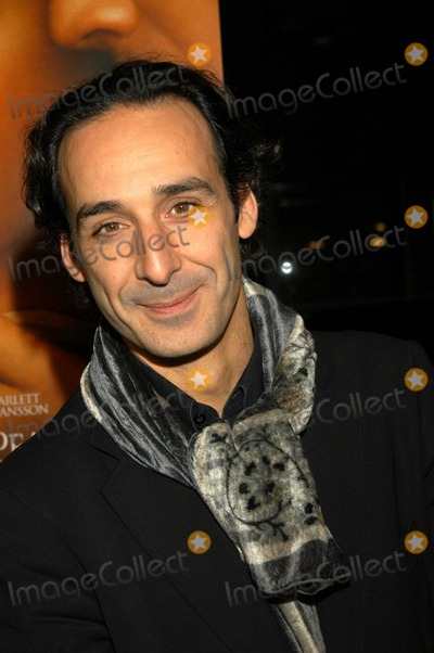 Alexandre Desplat Photo - Alexandre Desplat at Los Angeles Premiere of Girl With A Pearl Earring The Academy of Motion Picture Arts and Sciences Beverly Hills Calif 12-10-03