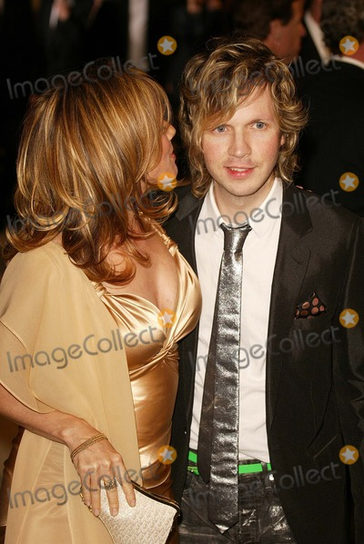 Beck Photo - Rosanna Arquette and Beck Hanson At the 2004 Vanity Fair Oscar After Party in Mortons Restaurant West Hollywood CA 02-29-04