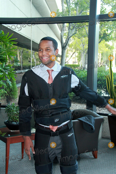 Amiel Photo - Amiel Traynumvetting the new Gravity Suit for Injured Athletes Private Location Los Angeles CA 01-08-15