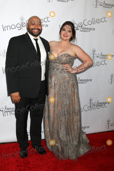 ASH Photo - Colton Dunn Lauren Ashat the 33rd Annual Imagen Awards JW Marriott Hotel Los Angeles CA 08-25-18