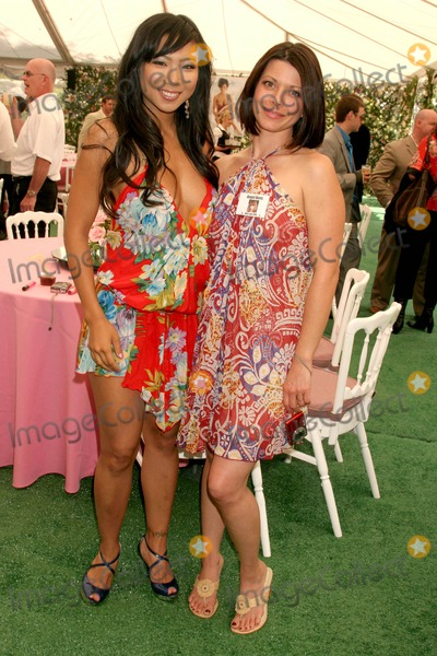 ANGEL REED Photo - Hiromi Oshima and Angel Boris Reed at the 2008 Playmate of the Year Luncheon Playboy Mansion Holmby Hills CA 05-08-08