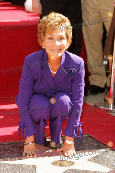 Judge Judy Sheindlin Photo - Judge Judy Sheindlinat the Ceremony honoring her with a star on the Hollywood Walk of Fame Hollywood Boulevard Hollywood CA 02-14-06