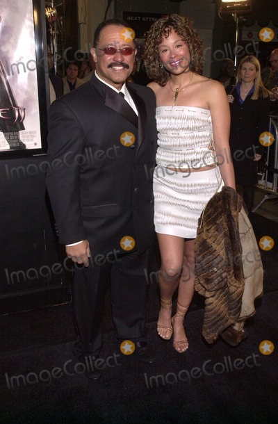 Judge Joe Brown Photo - Judge Joe Brown and date Debra at the premiere of New Lines BLADE 2 at the Chinese Theater 03-21-02