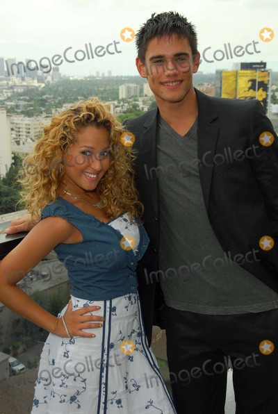 Adrienne Bailon Photo - Adrienne Bailon and Golan Yosefat The Cheetah Girls 2 interview session The Mondrian Hotel West Hollywood CA 08-01-06