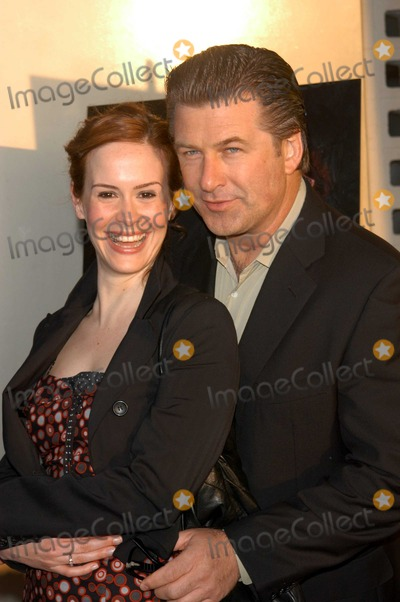 Alec Baldwin Photo - Sarah Paulson and Alec Baldwin at the premiere of Lions Gates The Cooler to launch the 2003 IFP Film Festival ArcLight Cinerama Dome Hollywood CA 06-11-03