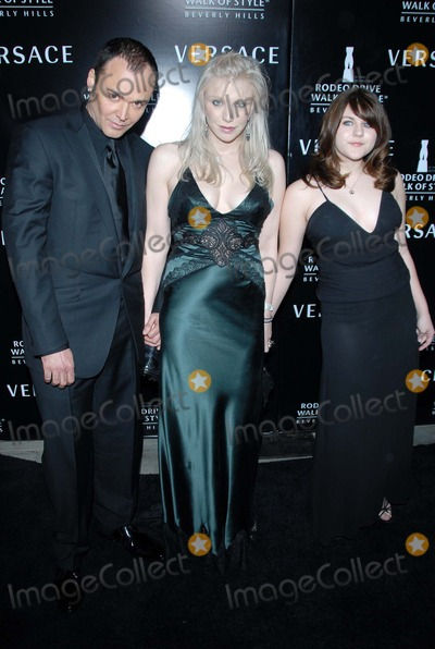 David LaChapelle Photo - David LaChapelle with Courtney Love and her daughter Francesat the celebration for The Rodeo Drive Walk of Style Award given to Gianni and Donatella Versace Beverly Hills City Hall Beverly Hills CA 02-08-07