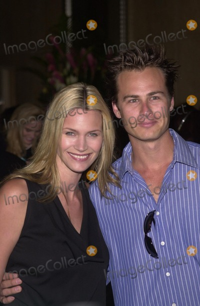 Liam Waite Photo - Natasha Henstridge and husband Liam Waite at the Runway For Life Fashion Show to Benefit St Jude Childrens Research Hospital Beverly Hilton Hotel 05-11-02