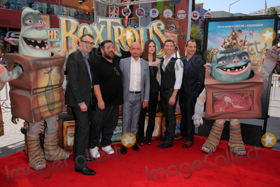 Anthony Stacchi Photo - Graham Annable Anthony Stacchi Ben Kingsley Elle Fanning Nick Frost Travis KnightThe Boxtrolls Los Angeles Premiere Universal Studios Universal City CA 09-21-14David EdwardsDailyCelebMediaPunch