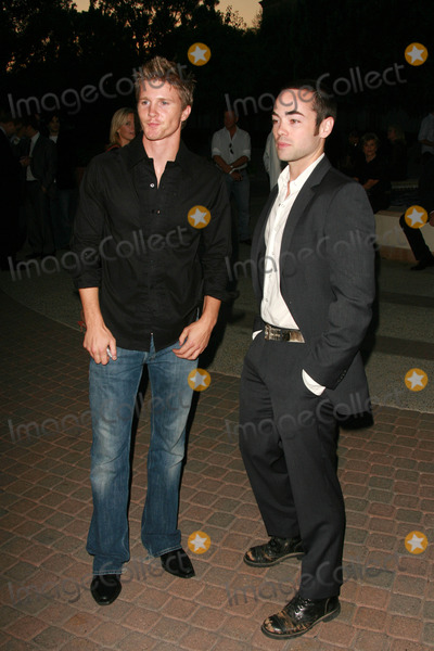 Thad Luckinbill Photo - Thad Luckinbill and John Hensleyat the Nip Tuck Season Four Premiere Screening Paramount Pictures Hollywood CA 08-25-06