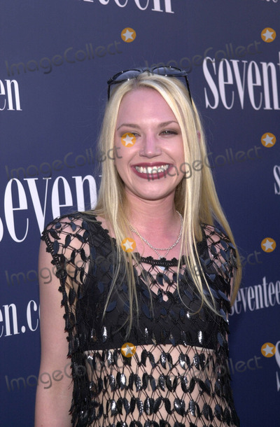 Adrienne Frantz Photo -  ADRIENNE FRANTZ at the SEVENTEEN Magazine VIP Party House of Blues West Hollywood 06-14-01