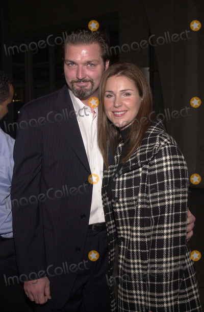 Christian Vincent Photo -  Peri Gilpin and husband Christian Vincent at the grand opening of the Burberry Store in Beverly Hills to benefit the Shakespeare Festival LA 10-25-01