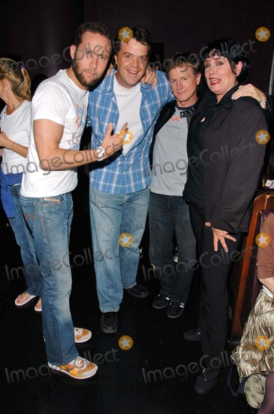 Alan Hunter Photo - Michael Rosenbaum and Jason Lively with Alan Hunter and Martha Davisat the 80s Stripped CD Release Party Viper Room Hollywood CA 06-01-06