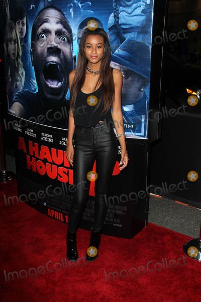 Nala Wayans Photo - Nala Wayansat A Haunted House 2 World Premiere Regal Cinemas Los Angeles CA 04-16-14
