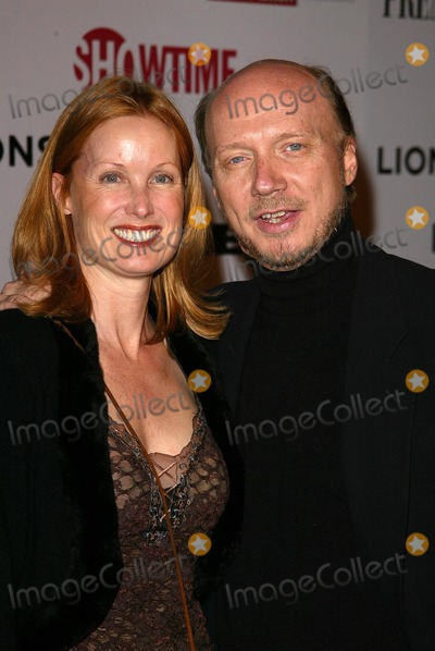 Deborah Rennard Photo - Deborah Rennard and Paul Haggisat the Lionsgate and Showtime party in honor of their Golden Globe Nominees Mortons West Hollywood CA 01-14-06
