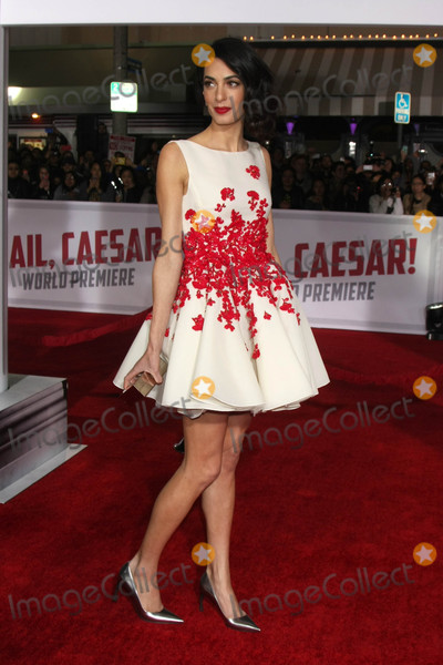 Amal Clooney Photo - Amal Clooneyat the Hail Caesar World Premiere Village Theater Westwood CA 02-01-16