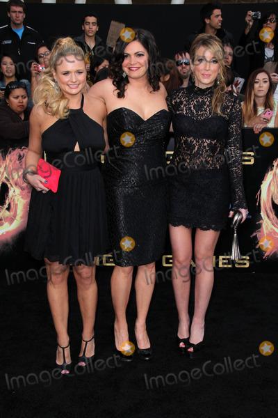 Ashley Monroe Photo - Miranda Lambert Ashley Monroe and Angaleena Presleyat The Hunger Games Los Angeles Premiere Nokia Theater Los Angeles CA 03-12-12