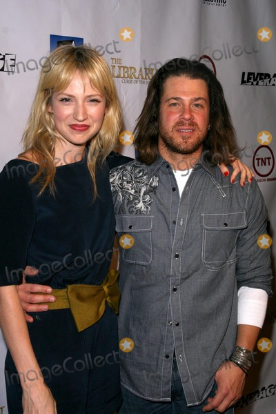 Beth Riesgraf Photo - Beth Riesgraf and Christian Kane at the TNT Wrap Party for The Librarian and Leverage Cabana Club Hollywood CA 11-19-08