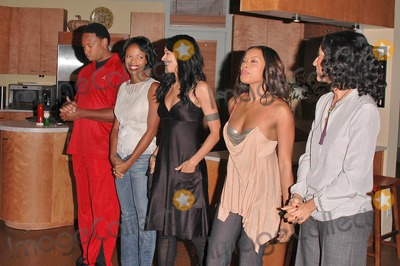 Reggie Hayes Photo - Reggie Hayes Jill Marie Jones Persia White Golden Brooks and Tracee Ellis Ross at the celebration in honor of 100 Episodes of Girlfriends at Stage 23 Paramount Pictures Hollywood CA 10-06-04