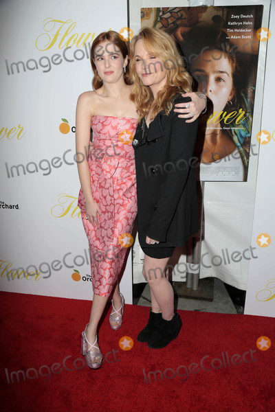 Lea Thompson Photo - Zoey Deutch Lea Thompsonat the Flower Premiere Arclight Hollywood CA 03-13-18