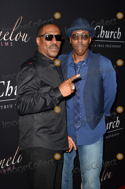 Arsenio Hall Photo - Eddie Murphy Arsenio Hallat the Mr Church Premiere Arclight Hollywood CA 08-06-16