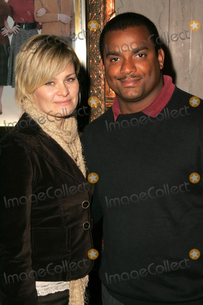 Alfonso Ribeiro Photo - Alfonso Ribeiro and wife Robinat the Opening of Irving Berlins White Christmas Pantages Theatre Hollywood CA 11-28-05