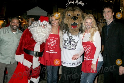 Aubrie Lemon Photo - Kelly Perine and Trisha Kara with Aubrie Lemon and Luc Robitailleat The Salvation Armys Annual Kettle Kick Off Honoring Honorary Mayor Johnny Grant and Local and County Fire Chiefs The Original Farmers Market Los Angeles CA 11-19-07