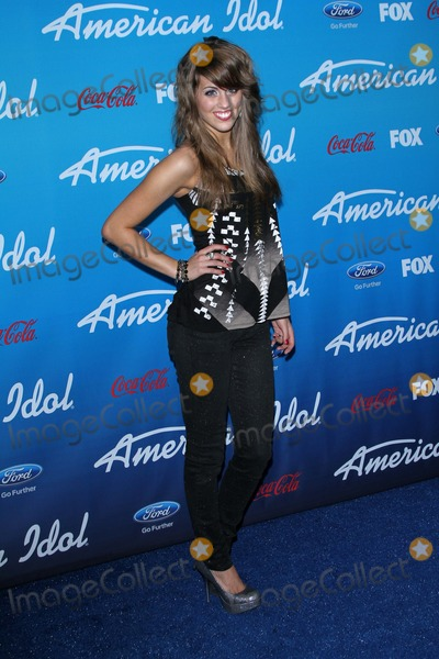 Angie Miller Photo - Angie Millerat the American Idol Finalists Party The Grove Los Angeles CA  03-07-13