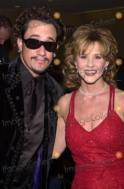 Genesis Photo - AJ McLean and Linda Blair at the 2002 Genesis Awards presented by the Ark Trust honoring media who have spotlighted important animal issues  Beverly Hilton Hotel 03-16-02