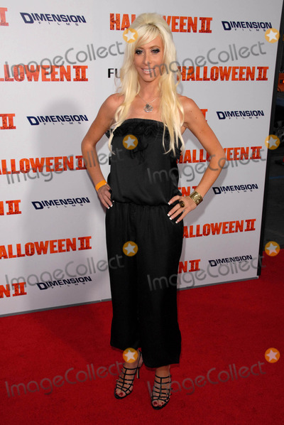 Aubry Fisher Photo - Aubry Fisherat the Los Angeles Premiere of Halloween II Graumans Chinese Theatre Hollywood CA 08-24-09