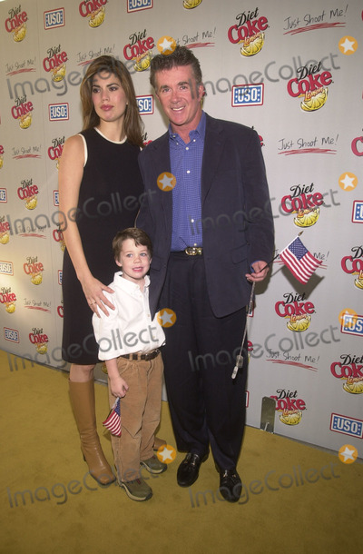 Alan Thicke Photo - Alan Thicke with wife and son Carter at the Operation Deliver America USO benefit sponsored by Diet Coke with Lemon and hosted by the cast of Just Shoot Me Spago Beverly Hills 12-03-01