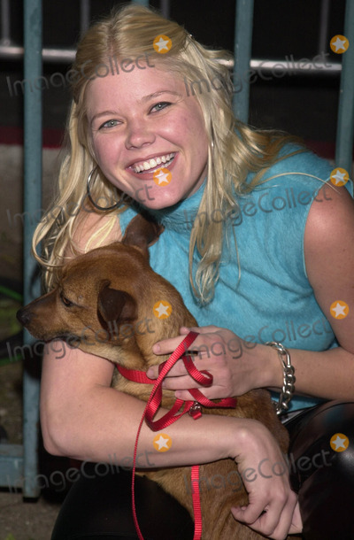 Sarah Ann Morris Photo -  Sarah Ann Morris at the launch party for Animal Avengers Club Vynyl Hollywood 04-12-01